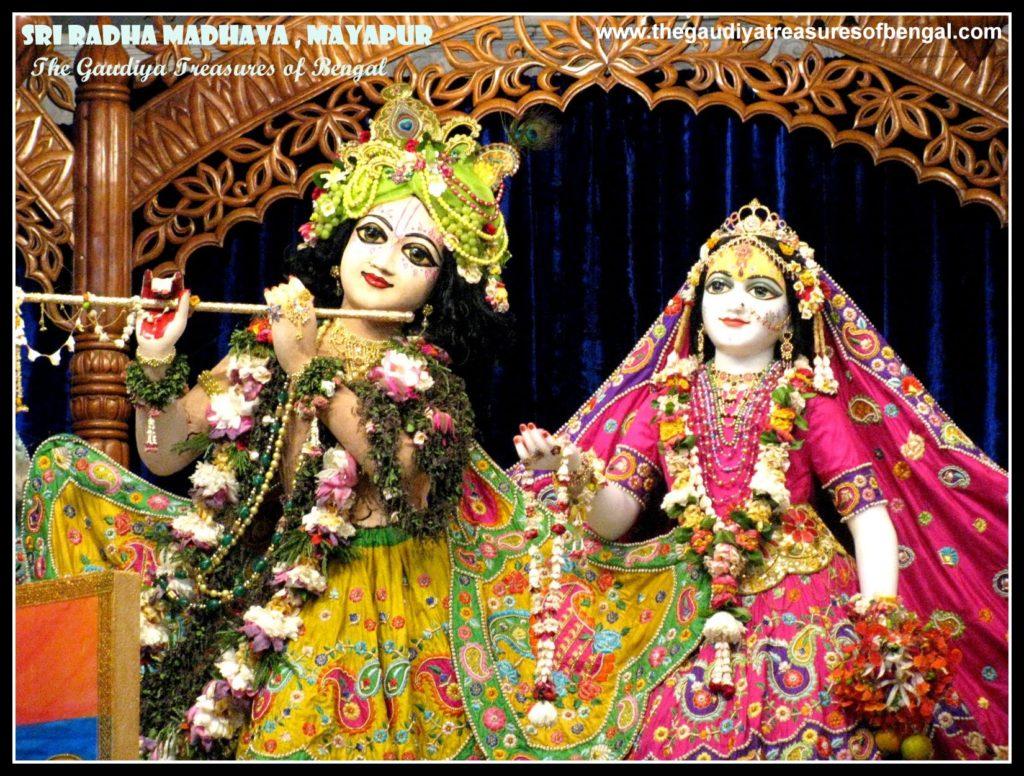 iskcon mayapur chandrodaya Radha Madhava