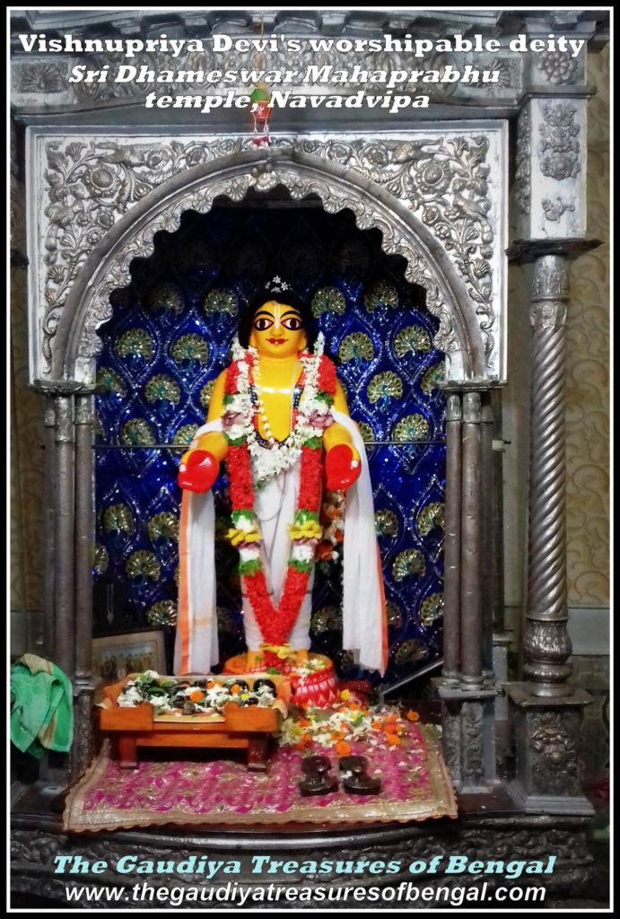 dhameshwar Mahaprabhu vishnupriya