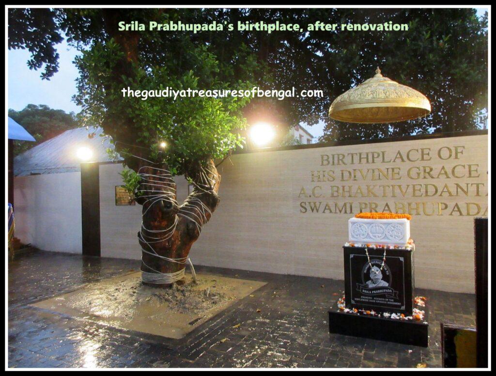 prabhupada birthplace renovated
