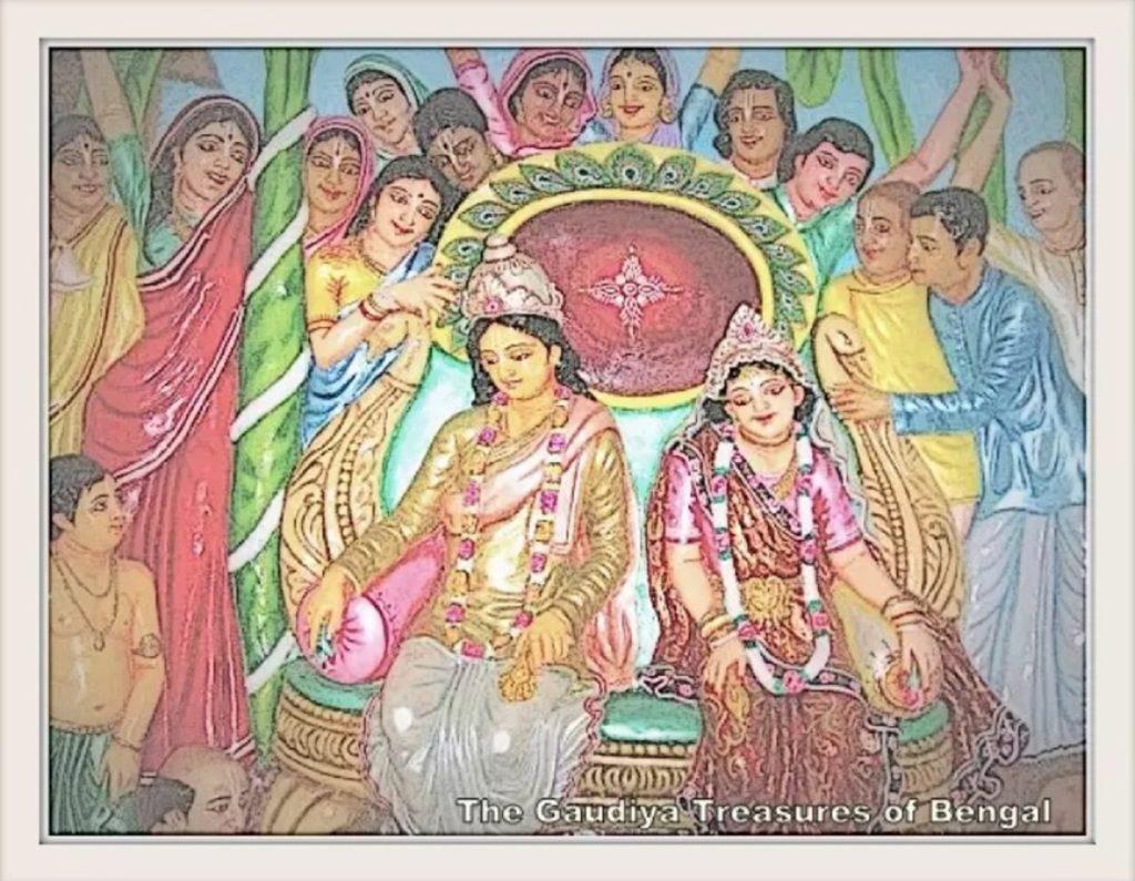 chaitanya mahaprabhu Lakshmipriya vishnupriya