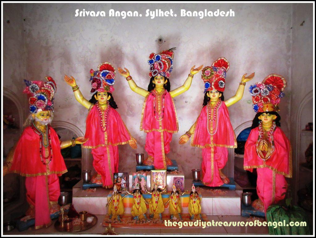 pancha tattva chaitanya nityananda Advaita