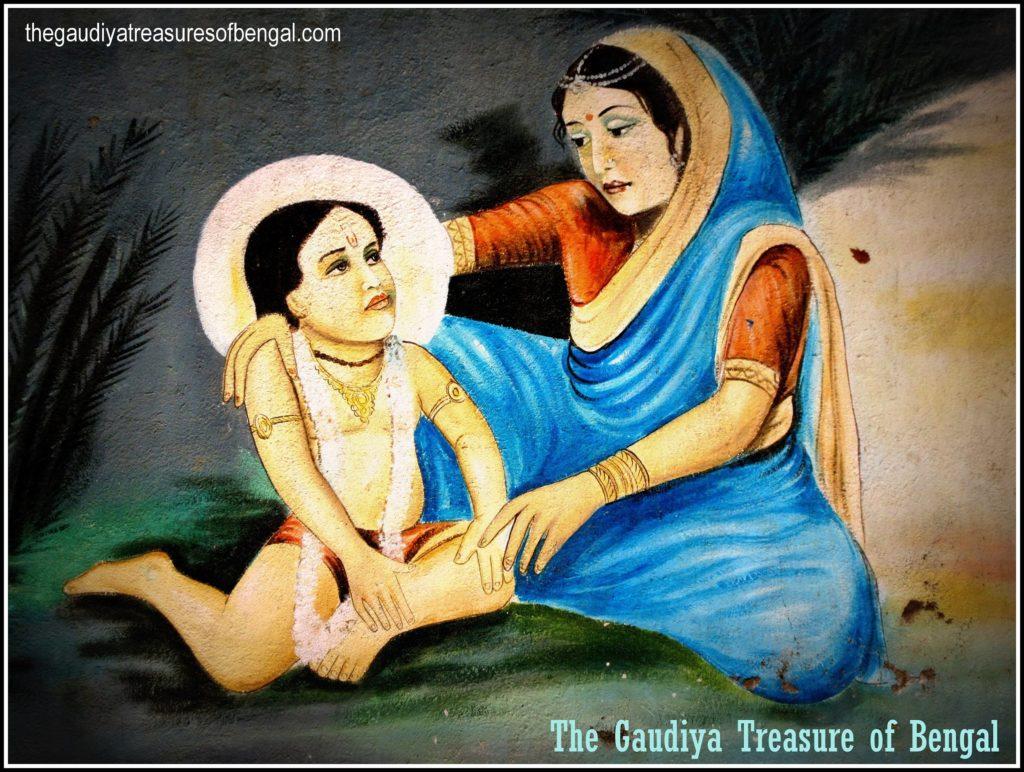 nimai chaitanya mahaprabhu saci mata