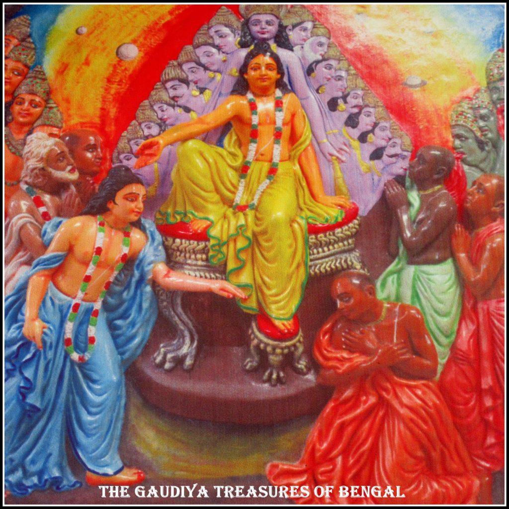 childhood pastimes of chaitanya mahaprabhu