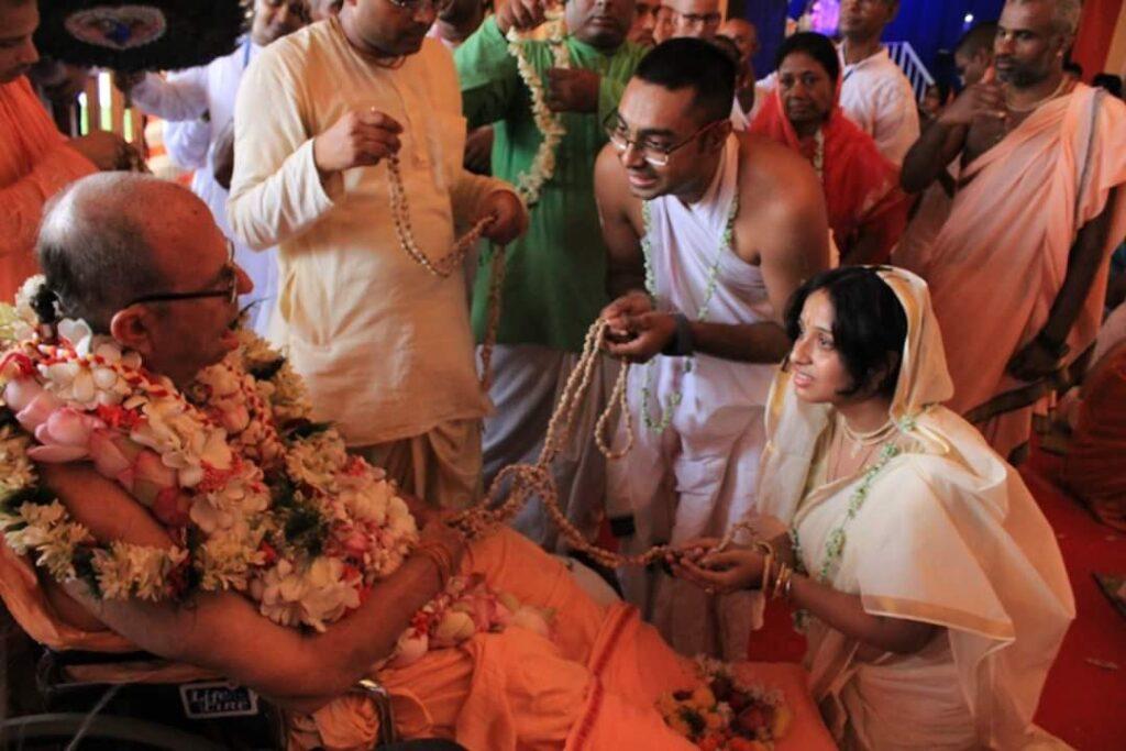 diptiman gaurahari das initiation