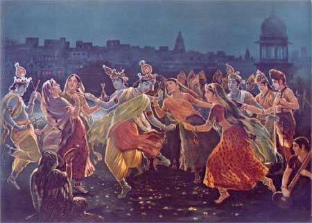 rasa dance vrindavan astha sakhi