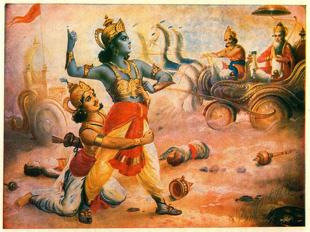 bhishma pitamah krishna arjuna